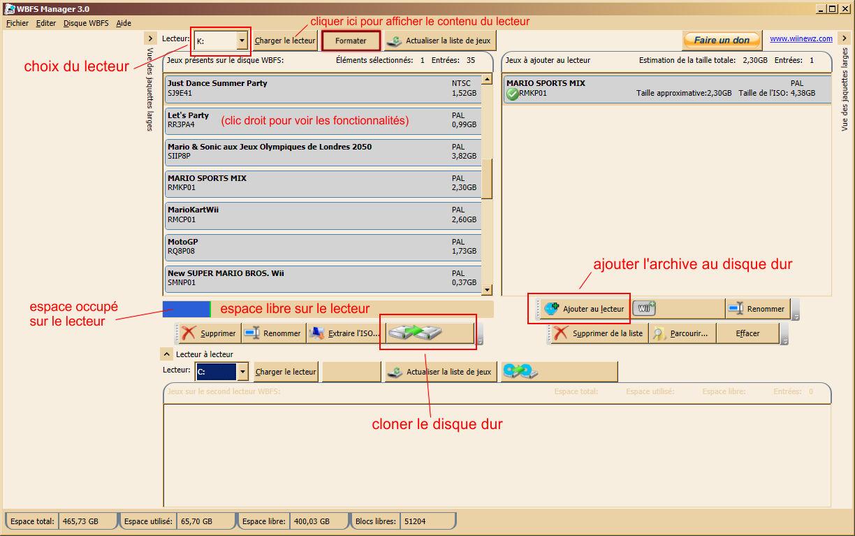 WBFS Manager - Vulgum Techus
