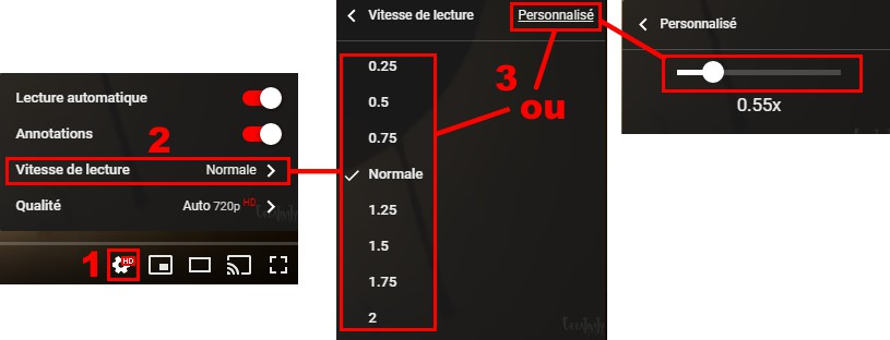 YouTube vitesse de défilement 230815.jpg